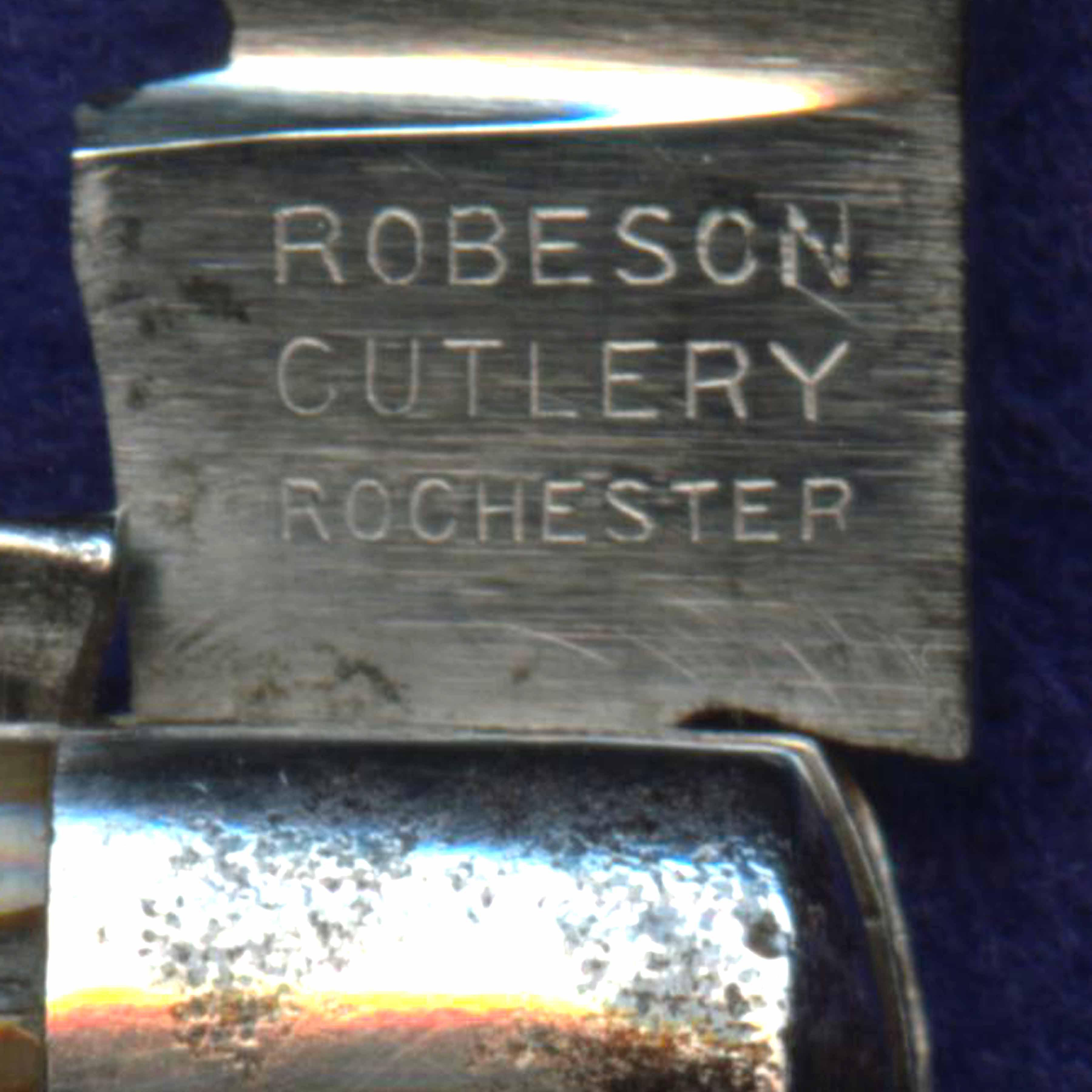 Robeson knife dating systems